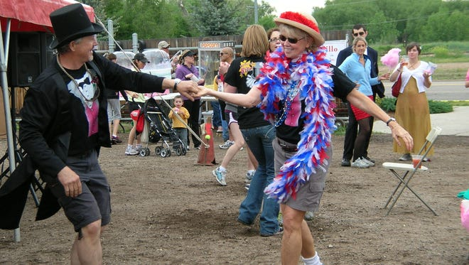 Dennis and Noreen Houska dance at the 2009 HouskaHouska in Fort Collins.