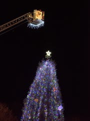 Silverton celebrated the beginning of the Christmas