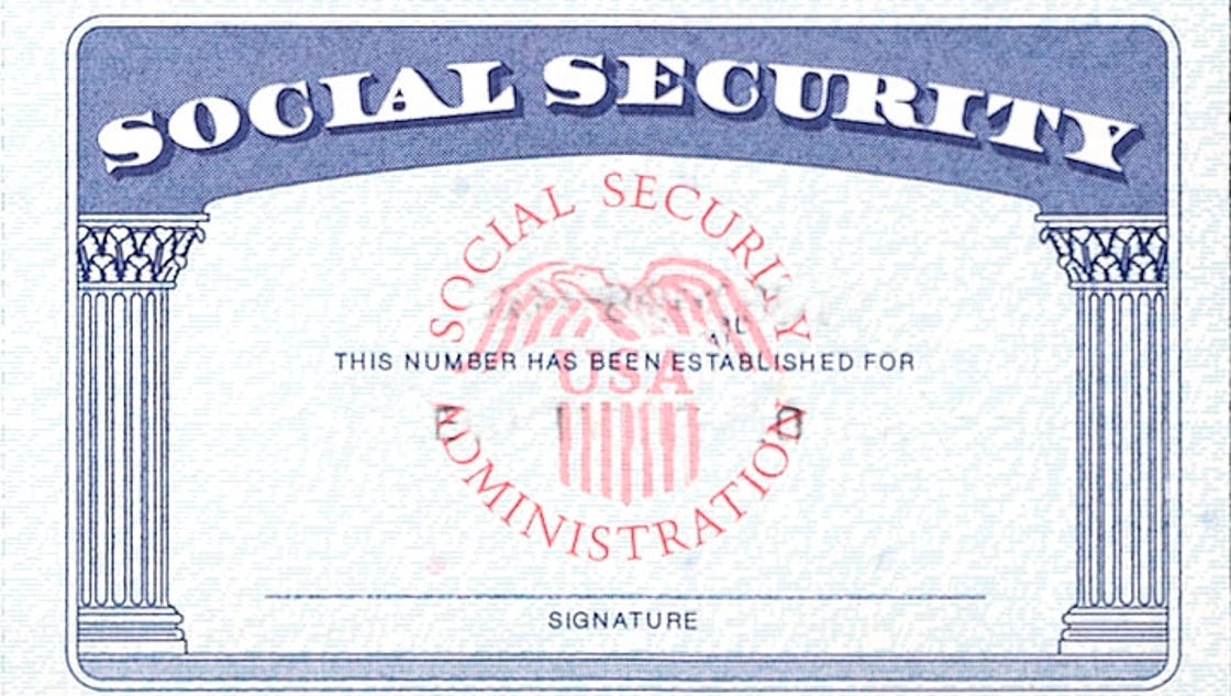 Social Security denies woman's full name on card