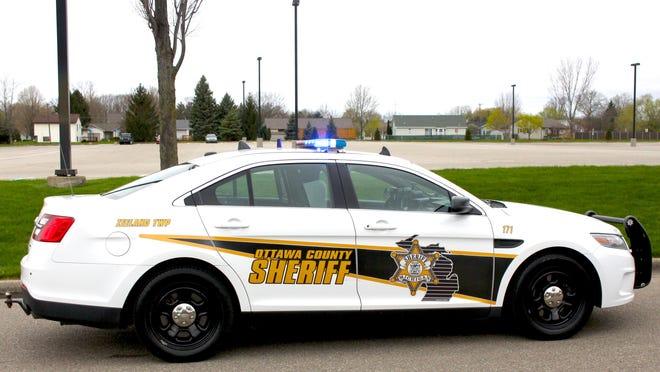 Ottawa County Sheriff's Department patrol car.