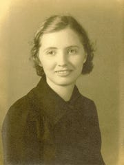 Margaret's high school senior photo in 1935.