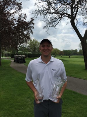 Former Pinckney golfer Otto Black won The Horton Smith Championship at Detroit Golf Club by six strokes, posting the second-lowest score in the tournament's history.