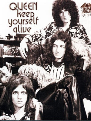 """Keep Yourself Alive"" was Queen's first single. It was originally released in 1973"