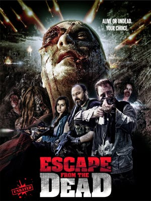 "Local filmmakers Josh and Daniel Brown are re-releasing their zombie flick ""Escape from the Dead"" on Friday."
