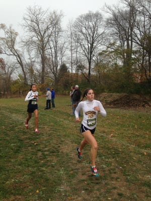 Woodmore's Courtney Burner will compete at the state meet.