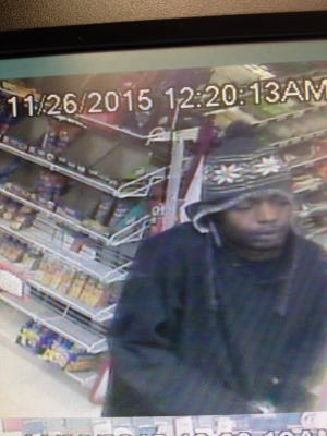 The Greenville County Sheriff's Office needs assistance identifying a the person suspected of  robbing the Pump and Munch store on White Horse Road on Nov. 25.