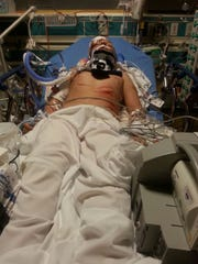 Dominick Leal, 12, was rushed to hospital Friday. Family