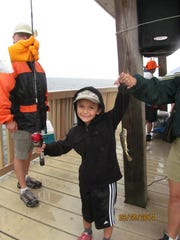 Kiwanis Kids' Fishing Derby at the yacht club will give your kids and grandkids an unforgettable experience;