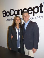 BoConcept owners Jane and Steven Syzdek hosted a fundraiser for BBSO in their Birmingham furniture and home décor store.