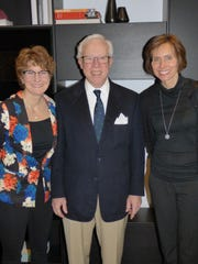 BBSO board member Ruth Carrigan and her husband, Cranbrook Music Guild board member Robert Carrigan, of Bloomfield Township and Birmingham resident Paula Biskup.