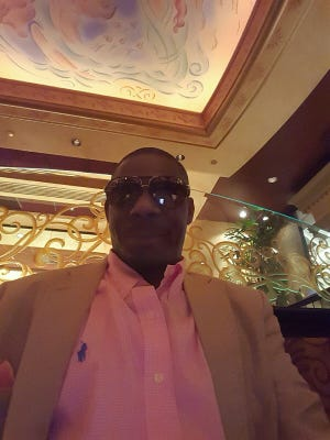 This is a selfie that Gregory D. Harris sent CastleRock REO while in contact with the company about a house he is accused of moving into without authorization.