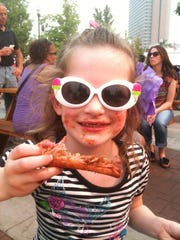 Rib fans of all ages, like this Glamour Girl with Rib, attend the Best in the West Nugget Rib Cook-off. The event runs Aug. 28 through Sept. 2, 2019, at the Nugget Casino Resort in Sparks, Nev.