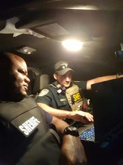 East Baton Rouge Deputy Jared Arceneaux and Caddo Deputy