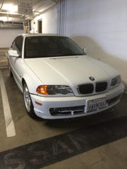 The car Calvin John Wheat, who is suspected of an Indian Wells carjacking and burglary, was last seen driving.