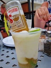 Why be boring with a plain Margarita when you can have a Beergarita in Avalon?