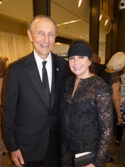 Ed Levy, Jr. and his wife, DSO Board member Linda Dresner.