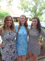 Birmingham residents Paige Pallas and Tara Pearce and