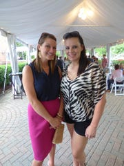 Dr. Amber Wehrle of Rochester Hills and Nicole Houin