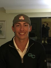 Gulf Coast High School golfer Trace Babb poses for a picture.