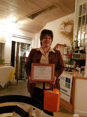 Lisa Rhoads, of Burdett, is the Southern Finger Lakes Women Woman of the Year.