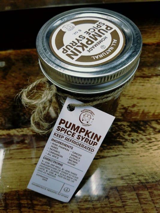Koffeewagon roasters pumpkin spice syrup