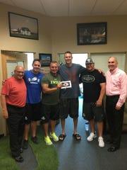 FGCU's Butch Perchan, Wes Sargent, head baseball coach