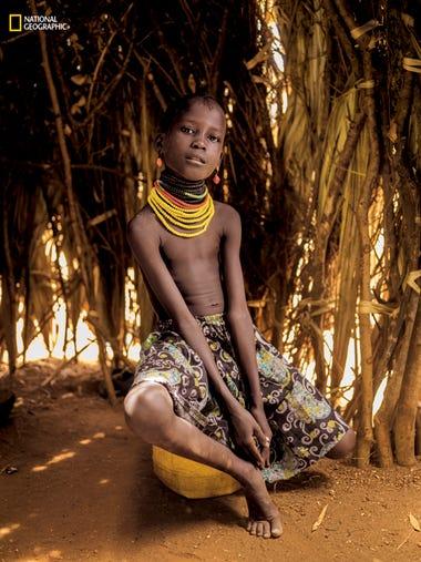 "Nawar Kagete, Kaputir, Kenya -- ""You are seduced wherever"