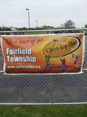 Fairfield Township  has a cleanup day June 1