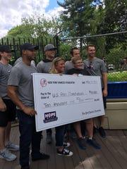 New York Yankees Matt Holliday, Aaron Hicks, Chris