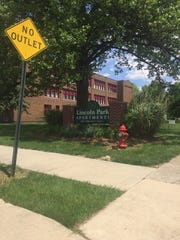What was once Greenfield High is now Lincoln Park Apts in Greenfield, 35 low-income housing units for senior citizens.