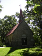 "Assumption Chapel, also known as the ""Grasshopper Chapel,"""