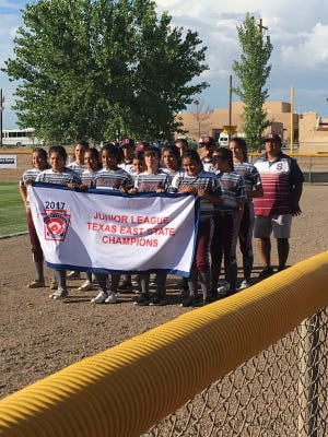 The Sinton Little League junior softball team is competing at the Southwest Region tournament in New Mexico.