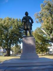 General Lloyd Tilghman Statue in Paducah, KY.