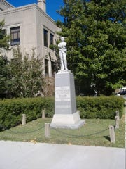 Confederate monument in Caldwell County, Kentucky