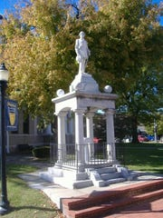 Confederate monument in Calloway County, Kentucky