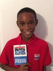 Owen Osborne is Louisiana's only Scholastic's Kid Reporter.
