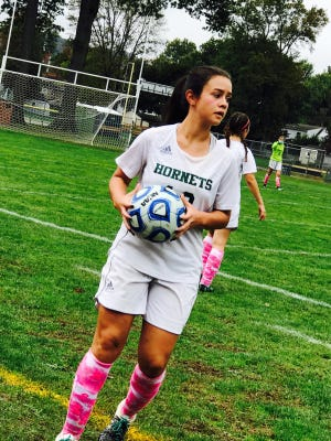 Passaic Valley senior Melissa Cruz was named honorable mention all-county.