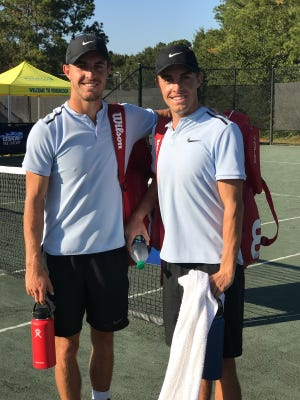 The doubles team of Hunter and Yates Johnson won the Pensacola Futures Championship on Sunday at Roger Scott Tennis Center.