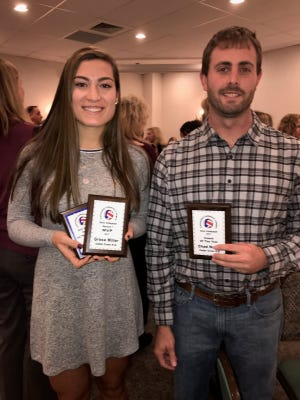 Grace Miller of the Cedar Crest girls volleyball team was recently named the Section One MVP, while head coach Chad Nolen took home Lancaster-Lebanon League Coach of the Year honors.