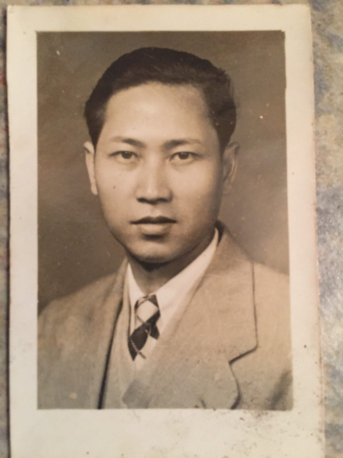 David Leong as a young man.