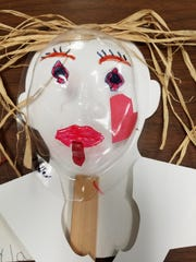 A mask made by a Gifford Youth Achievement Center student