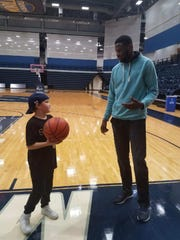 Monmouth basketball forward Sam Ibiezugbe discusses
