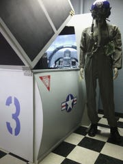 Pictured is one of the eight aviation simulators recently