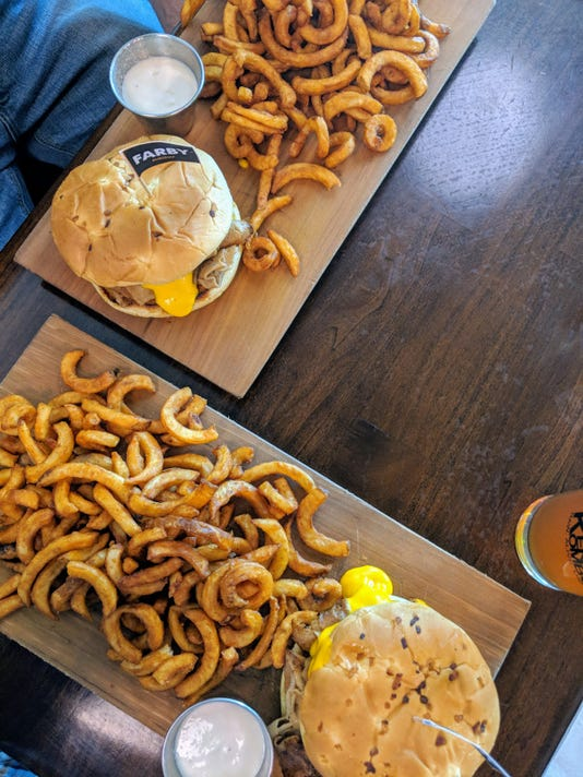 The curly fries at Morels Cafe