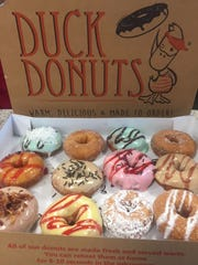 Duck Donuts, a chain known for its customizable, made-to-order cake doughnuts, is coming to Park Shore Plaza on U.S. 41 in Naples.