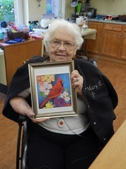 "RCH resident and ""Creations with Kayla"" crafter Mary"
