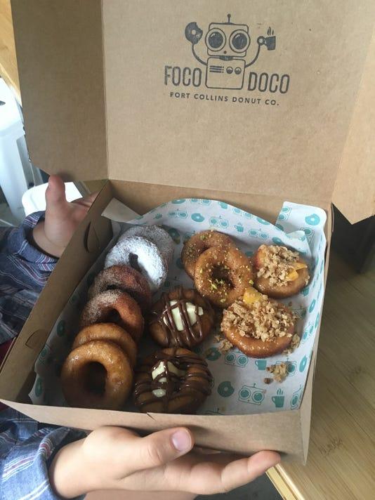 Mixed donuts from Foco Doco
