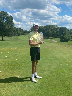 Charles Jahn of Mediapolis won the Iowa Masters on Sunday at Veenker Golf Course in Ames.
