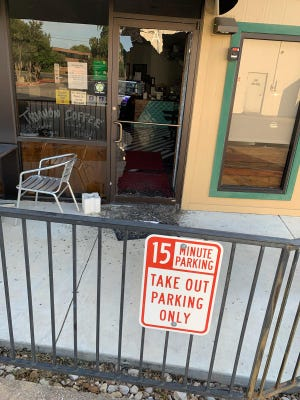 Trianon Coffee has been burglarized twice in the last month.