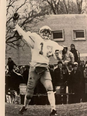Aquin's Pat Richter was one of the area's first shotgun spread quarterbacks when he started for the Bulldogs from 1979 to 1981.